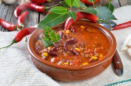 chilli con carne rezept