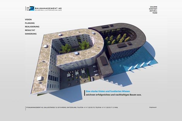 PP Baumanagement AG: Generalunternehmer Luzern