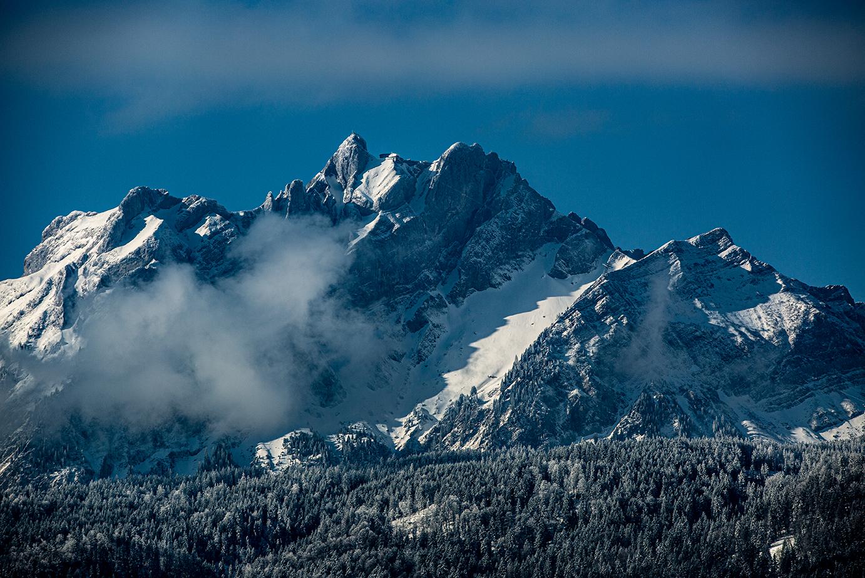 pilatus winter schnee berg landschaft