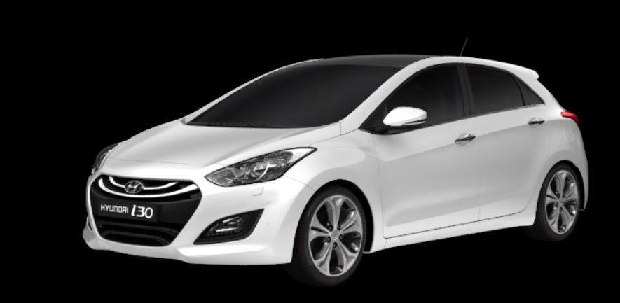 Das Fahrschul-Auto: Ein Hyundai i30.