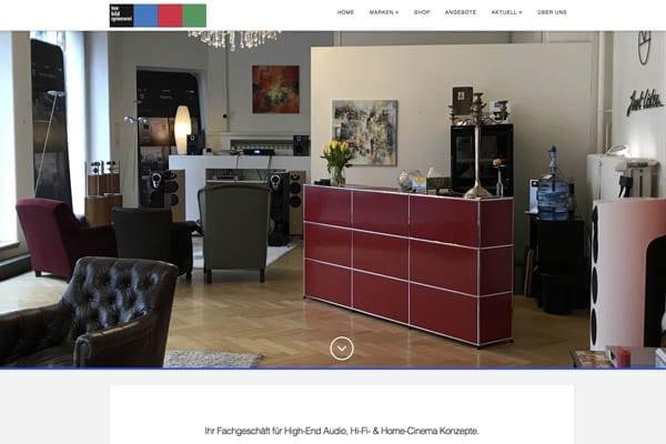 High End Audio Geschäft Linn & Devialet Luzern Schweiz