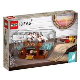 21313_schiff in flasche lego verkauf privat