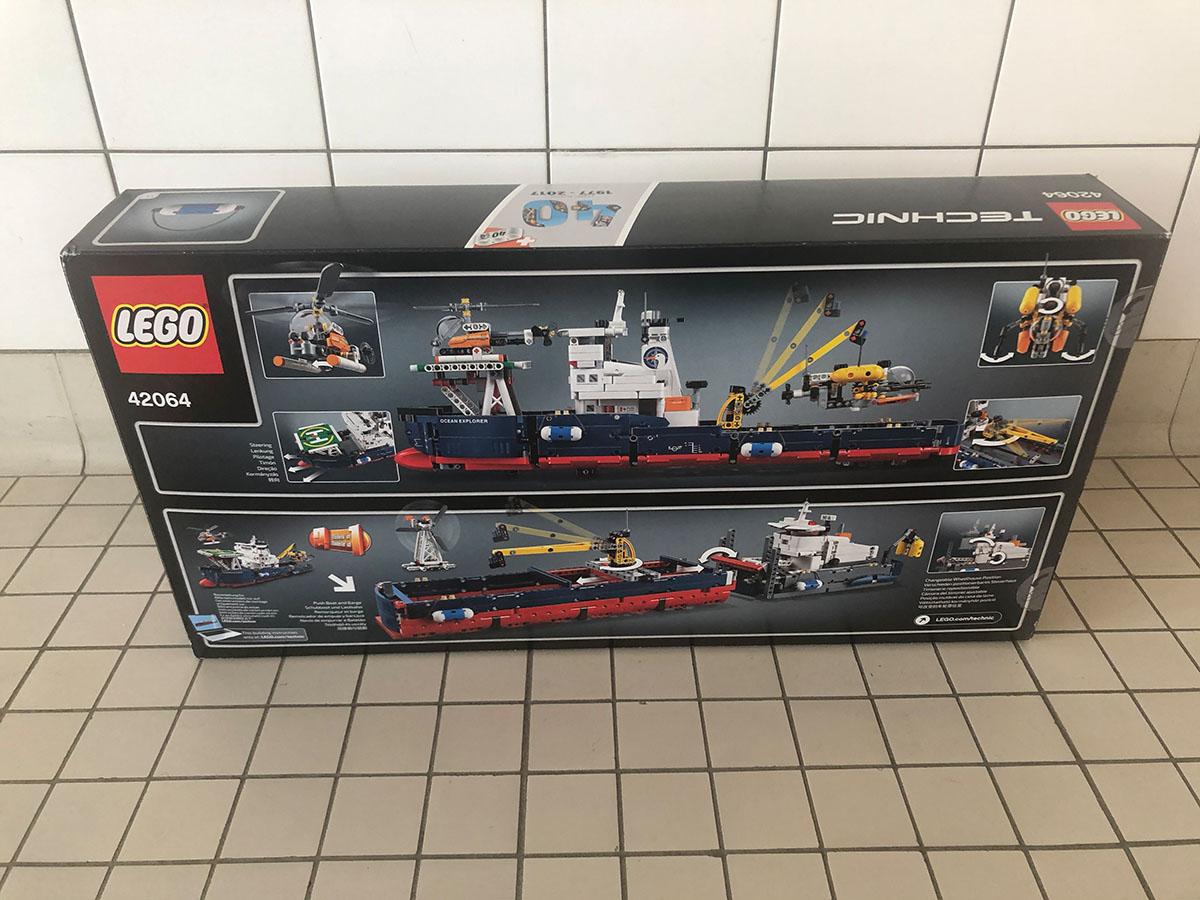 lego forschungsschiff technics