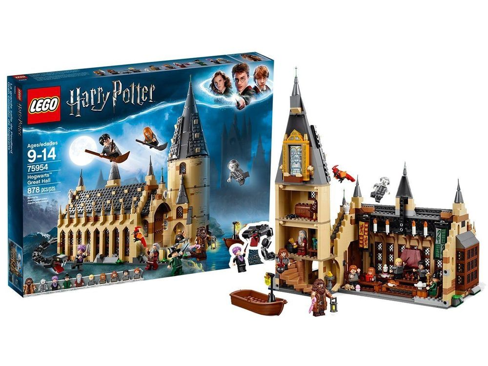lego-grosse-halle-von-hogwarts-75954 privat verkauf
