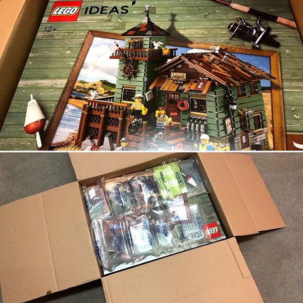 lego zu verkaufen privat alter angelladen 21310 neu ovp klein