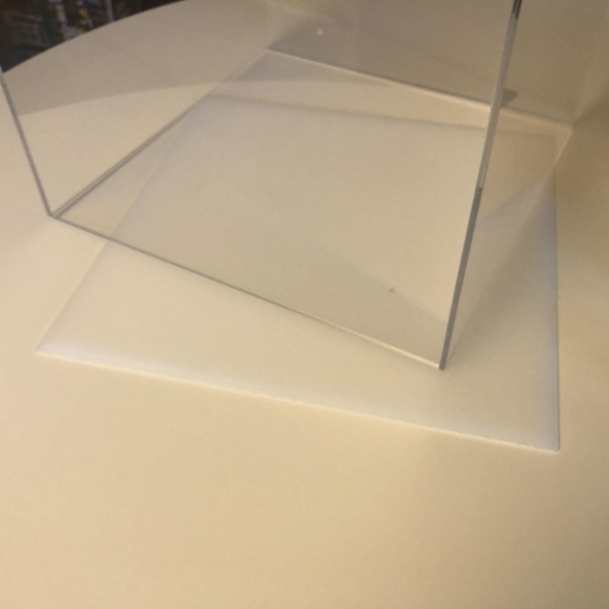 lego vitrine plexiglas mit Grundplatte kein staub mehr