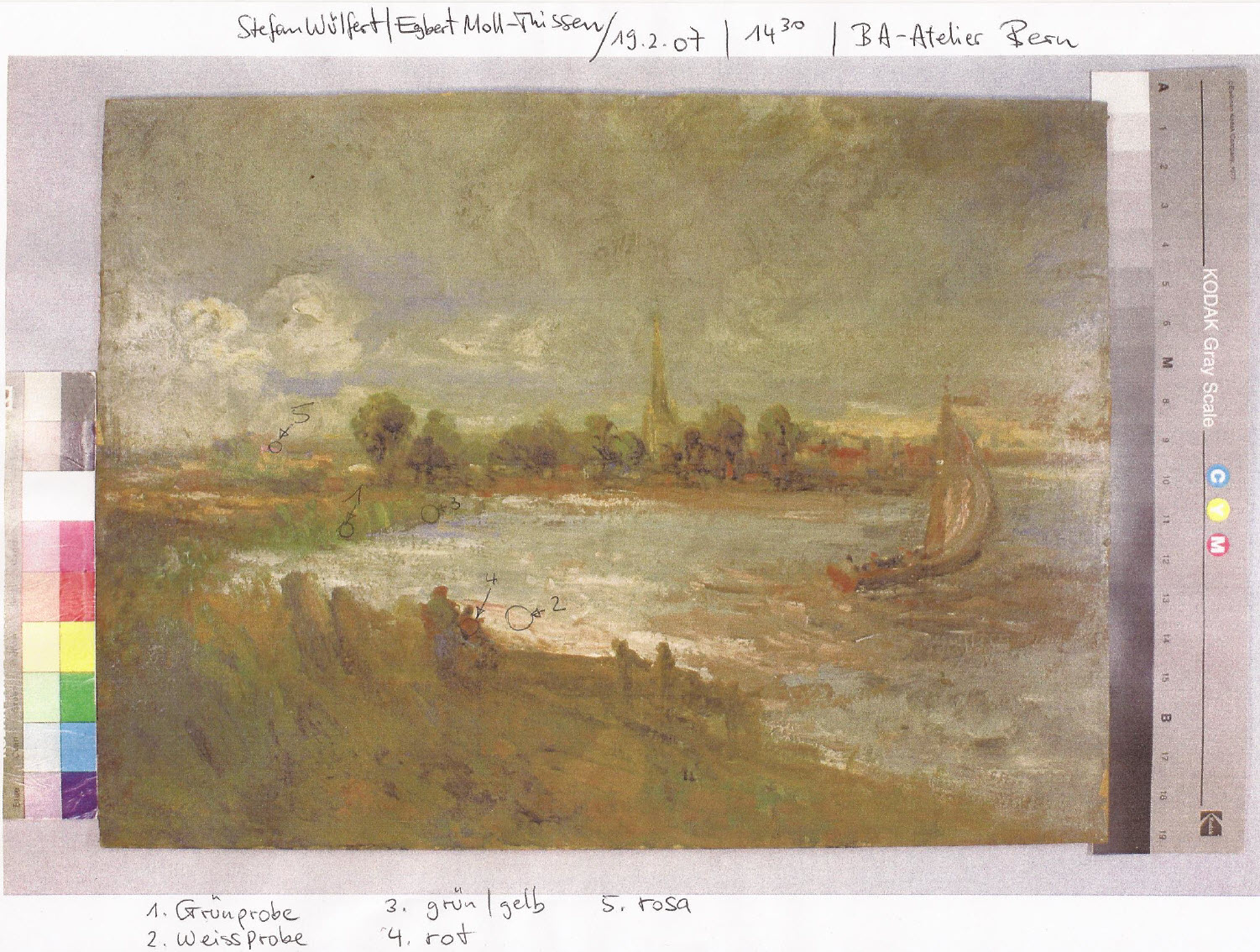 john constable painting for sale private collection switzerland